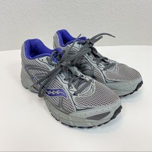 Saucony Cohesion 7 Gray Running Sneakers Size 10